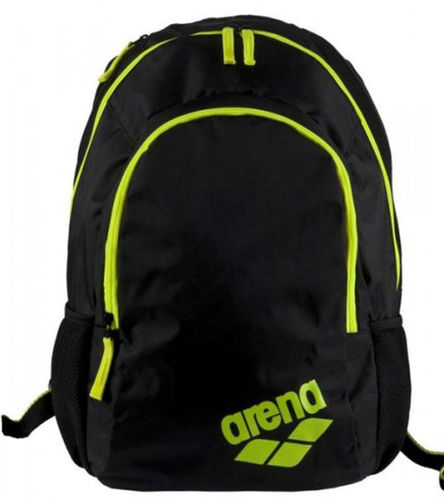 Spiky 2 Backpack schwarz/lime